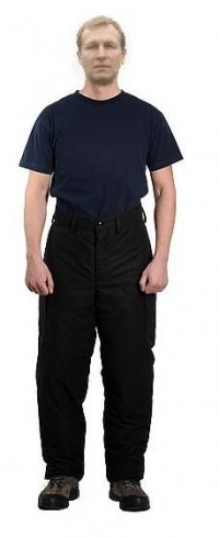 брюки утепленные ватные (сажа, грета)