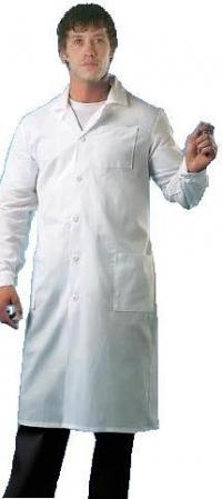 халат белый мужской