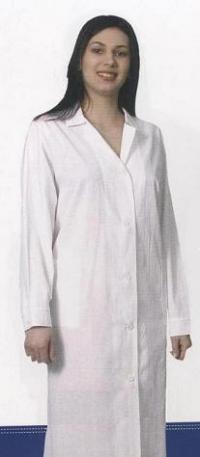 халат женский белый