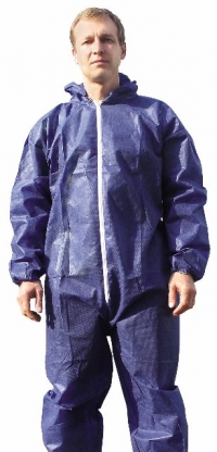 комбинезон из полипропилена синий