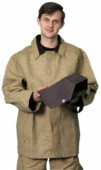 костюм сварщика  усиленный (брезент оп, 540 г/м.кв)