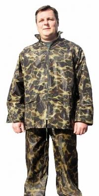 костюм водостойкий пвх+нейлон камуфляж