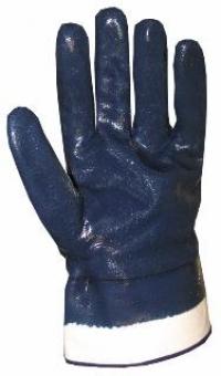 перчатки двойное покрытие нитрилом жесткий манжет