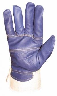 перчатки кожа+х/б утепленные на меху
