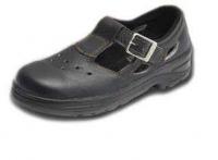 туфли с пряжкой литьевого метода крепления
